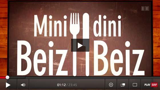 Restaurant zum Grundstein in Thalwil zu Gast bei Mini Beiz Dini Beiz