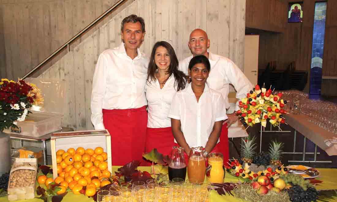 Restaurant zum Grundstein Partyservice Catering Team