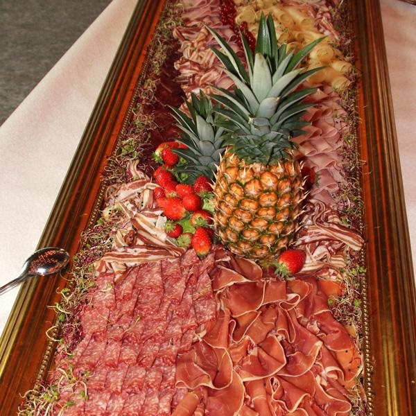 Restaurant zum Grundstein Partyservice Fleischplatte