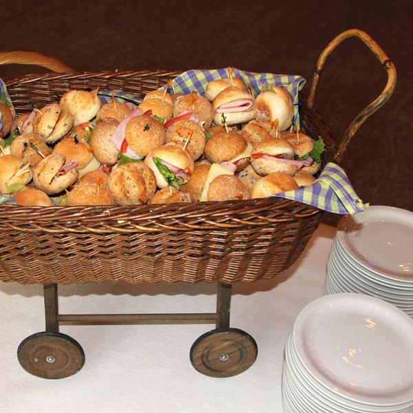 Restaurant zum Grundstein Partyservice Sandwiches