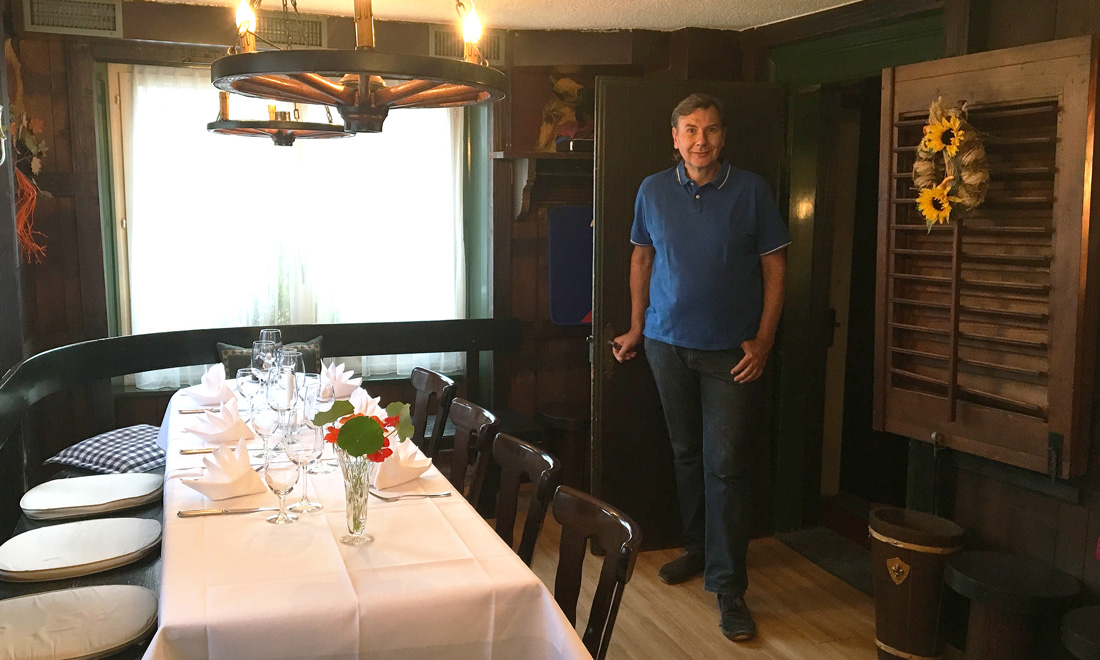 Restaurant zum Grundstein Wirt Urs Buehlmann